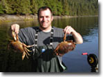Catch crabs at Knudson Cove